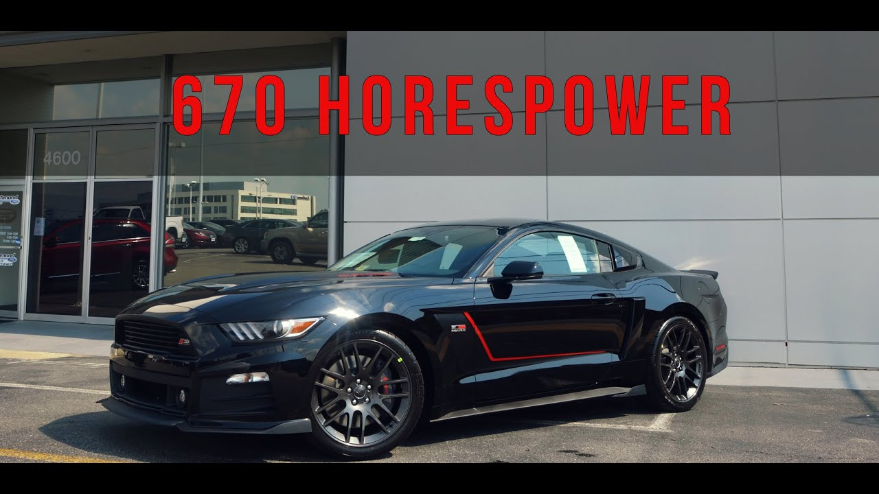 2015 roush stage 3 mustang it means business youtube. Black Bedroom Furniture Sets. Home Design Ideas