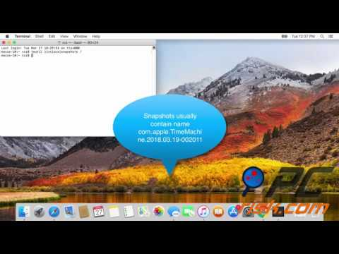 How to delete Time Machine snapshots on your Mac?