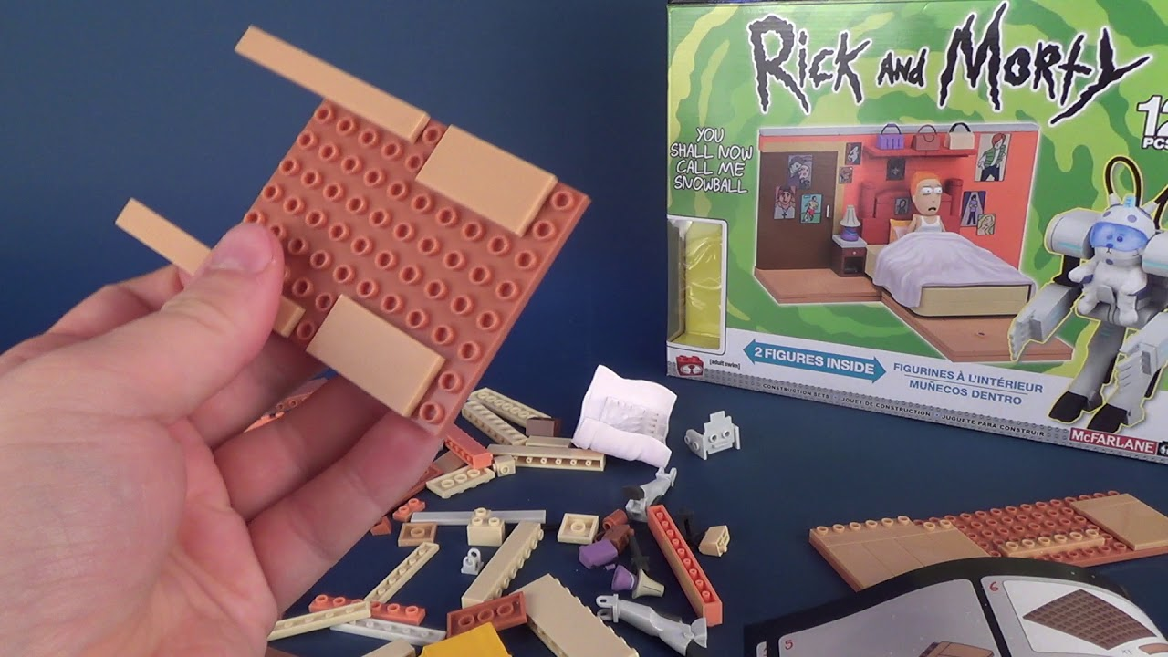 Rick And Morty Building Set McFarlane Toys You Shall Now Call Me Snowball