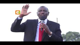Gov't to increase Murang'a water project allocation by Ksh150M - Ruto