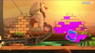 Raving Rabbids Travel in Time Walkthrough - Shootarium: Bozo the Sphinx
