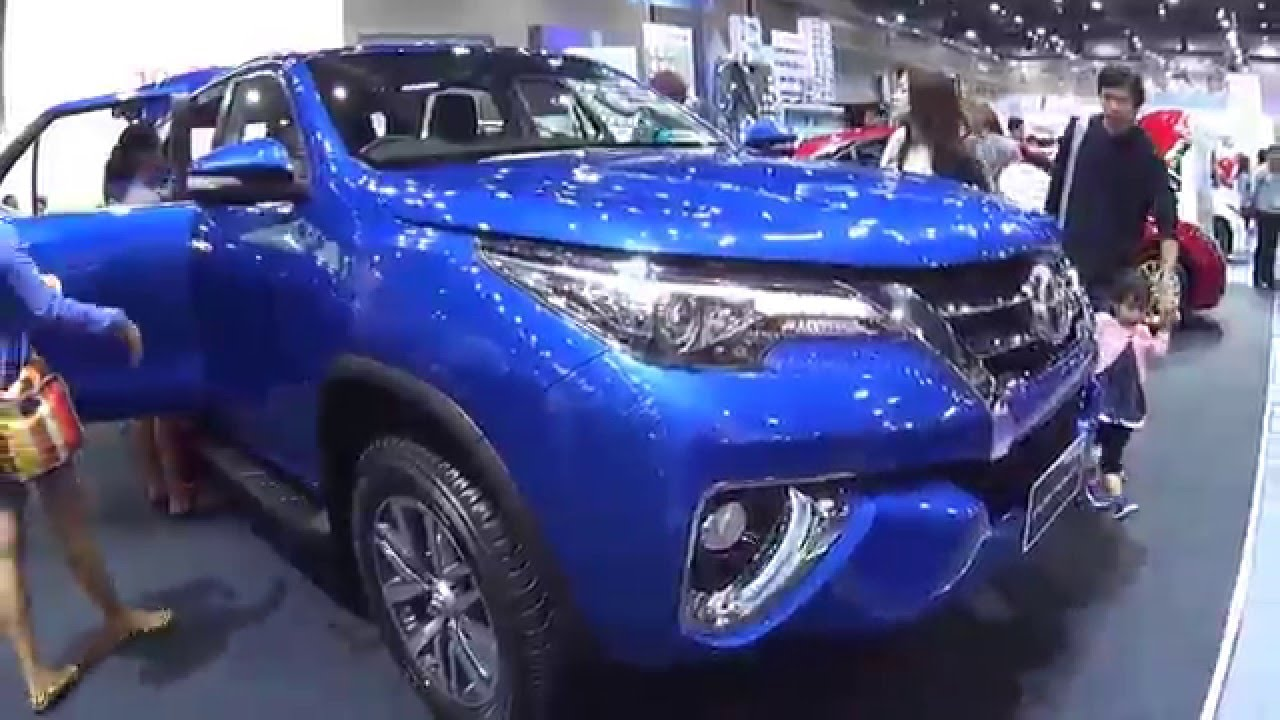 Video Toyota Fortuner 2015, 2016 Top model, 4WD