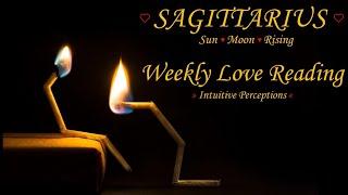 SAGITTARIUS - AUGUST 5-11 2018 LOVE TAROT READING