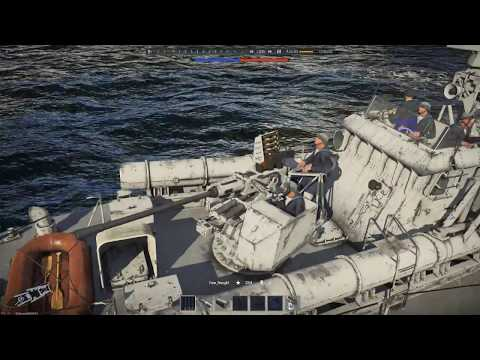 Ship Chats :Dark-Class Patrol Boat ( War Thunder Naval Ships )
