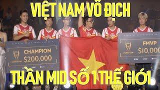 Thần Mid thế giới mới của Việt Nam hành Best mid Đài Loan như thế này đây