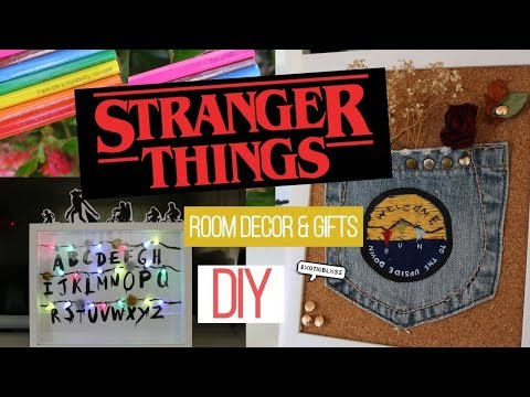 DIY Stranger Things fandom room decor & gifts (MUST TRY!!!) || ExoticBlxss