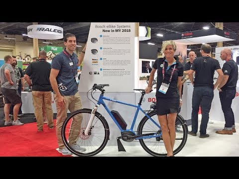 2018 Bosch Electric Bike Updates from Interbike (Active Line Plus, eShift, PowerTube 500)