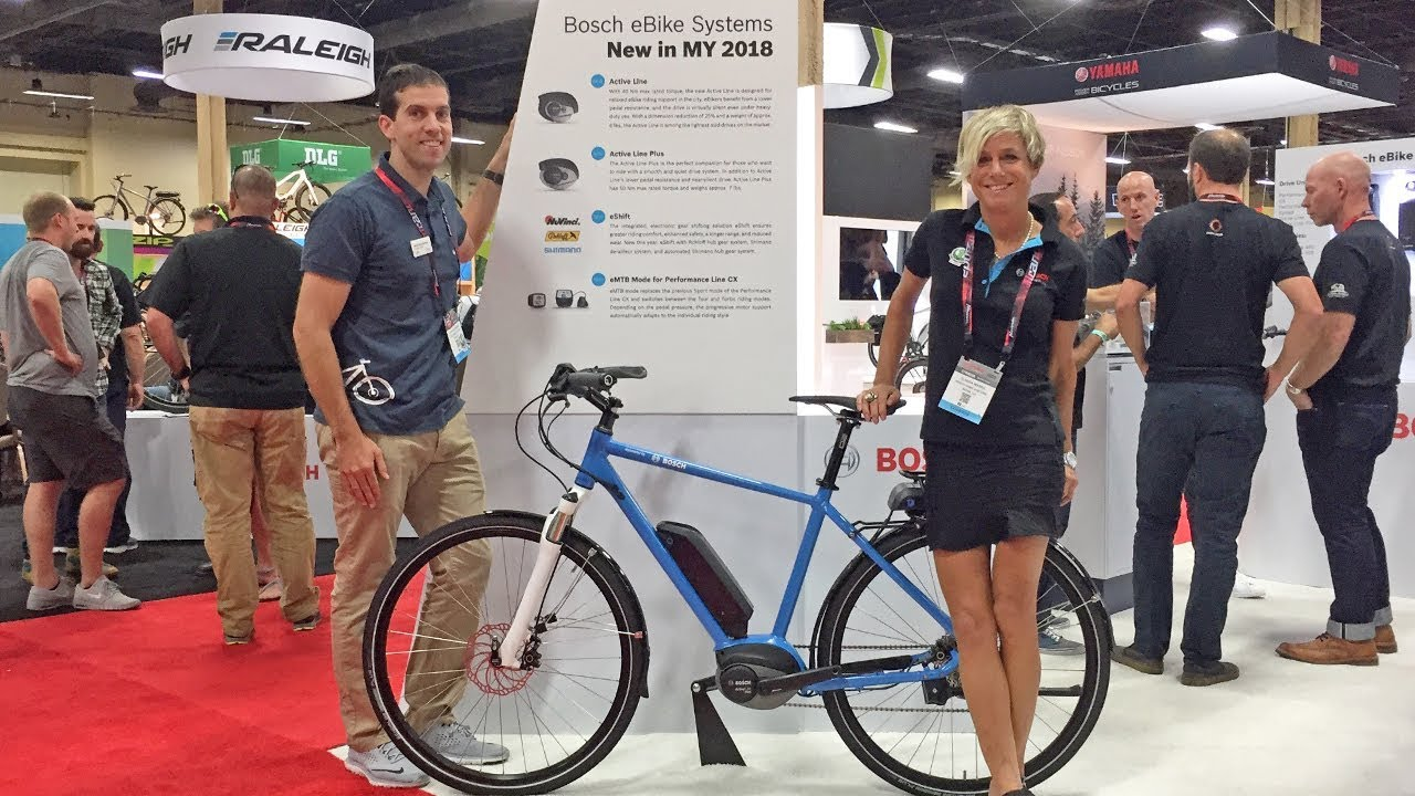 2018 bosch electric bike updates from interbike active. Black Bedroom Furniture Sets. Home Design Ideas