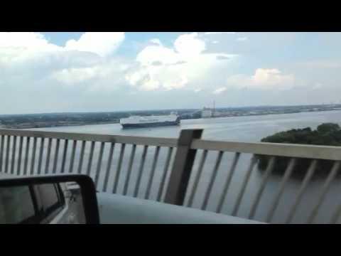 Big ship Delaware river