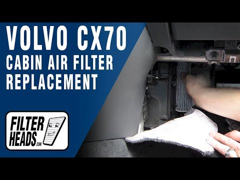 How to Replace Cabin Air Filter Volvo XC70