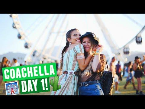 COACHELLA 2017 DAY 1 | Radiohead, Empire of the Sun & Photoshoots!