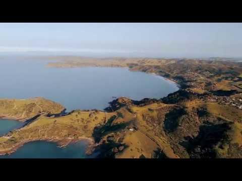 Waiheke Island - New Zealand,  by Drone 4K