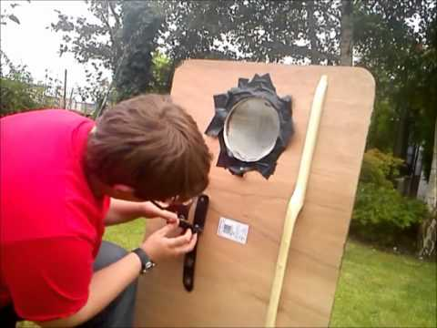Homemade Riot Shield - YouTube