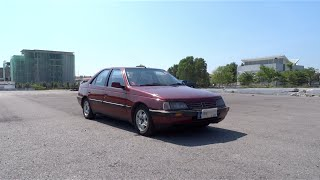 1995 Peugeot 405 2.0 SRi Automatic Start-Up, Full Vehicle Tour, and Quick Drive