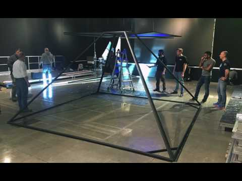 3D Holographic Pyramid 4x4mt ideastech.it
