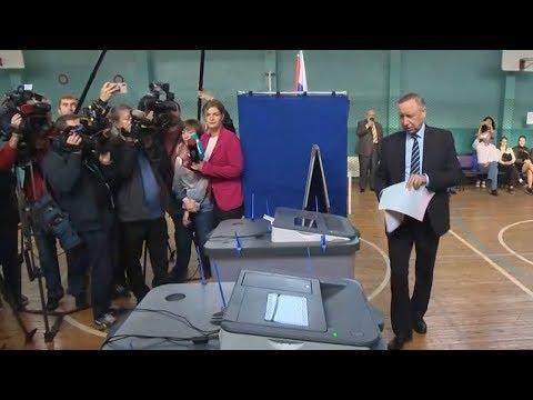 Александр Беглов: Главное, чтобы выборы были чистыми и открытыми
