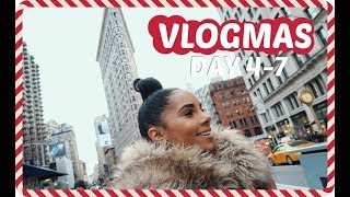 Baixar VLOGMAS DAY 4 - 7 | Showing Family Around NYC + Secret Project