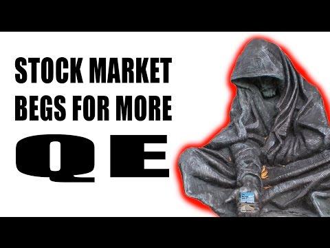Stock Market BOOM: QE4, ECB Stimulus, Japan QE, 0% Interest Rates!