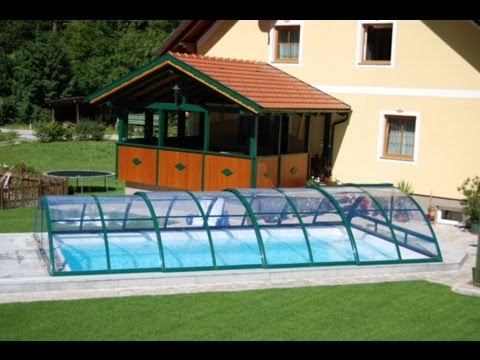 pool berdachungen schwimmbad berdachungen vom marktf hrer mit aufbau und montage albixon. Black Bedroom Furniture Sets. Home Design Ideas