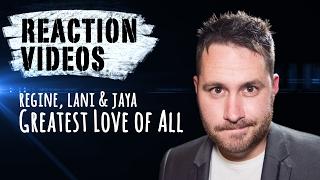 Greatest Love Of All - Regine Velasquez, Lani Misalucha, Jaya   REACTION