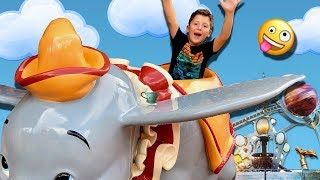 FULL RIDE Tea Cups, Dumbo and More! | MAGIC KINGDOM FLORIDA