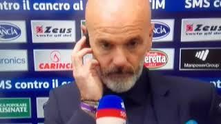 #Intervista #Pioli  #Deluso Dopo #Frosinone-Fiorentina 1-1