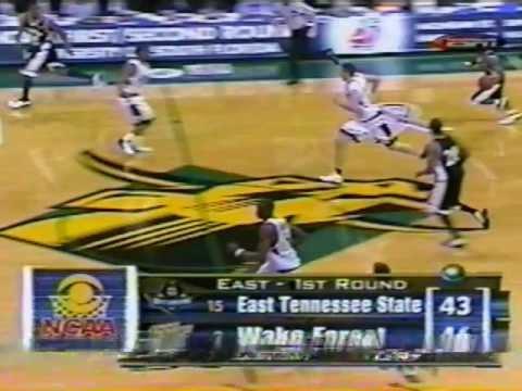 ETSU vs Wake Forest - 2003 NCAA Tournament - Pt 4