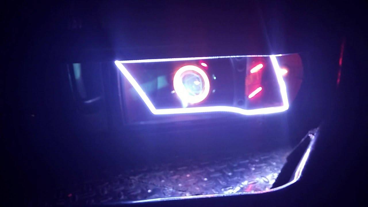 2001 Dodge Ram Custom Headlights Youtube