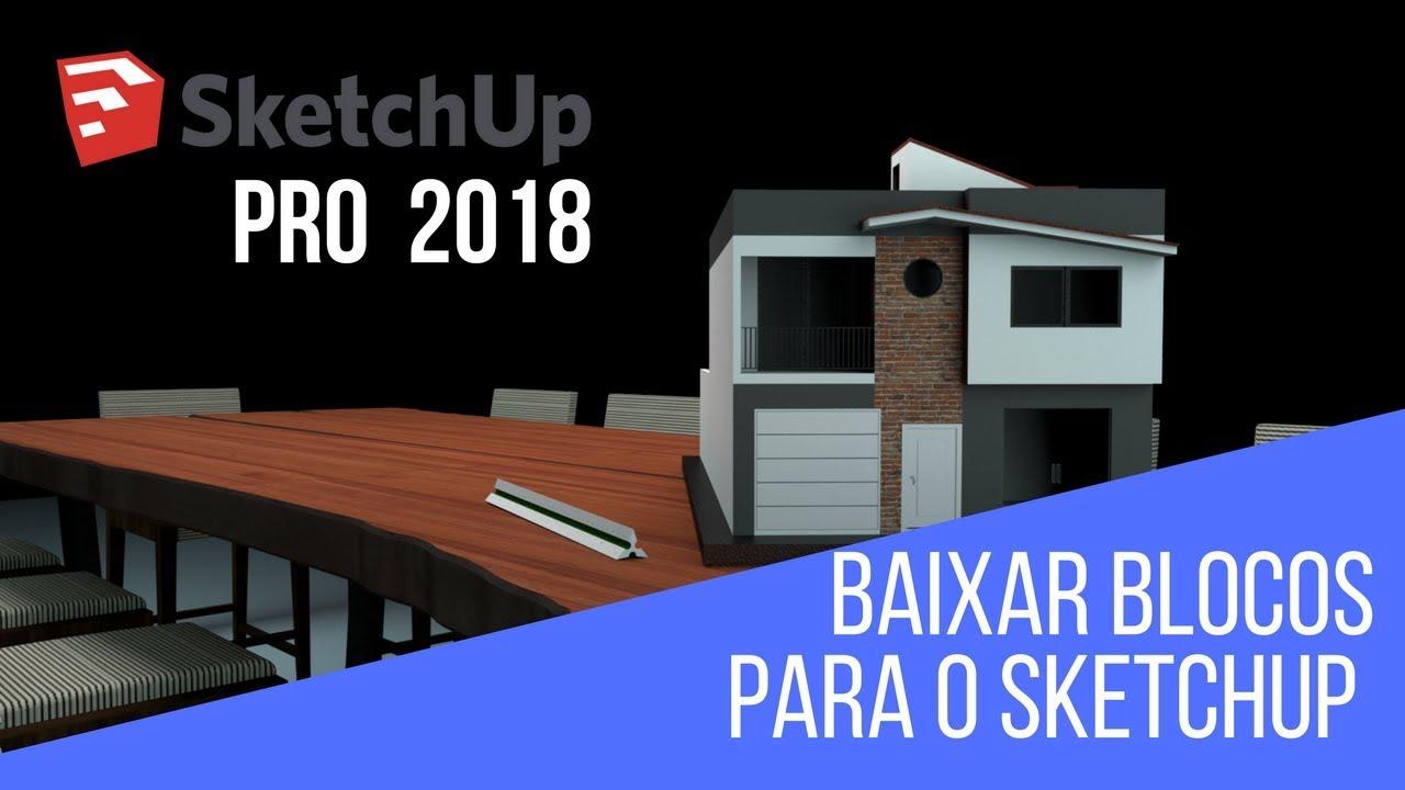 download blocos sketchup