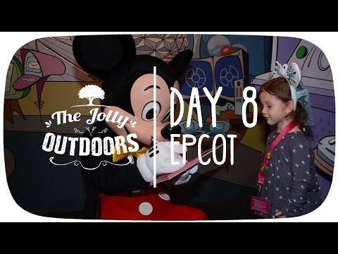 Day 8 - Epcot - Orlando Florida 2016 Holiday Vlog Video