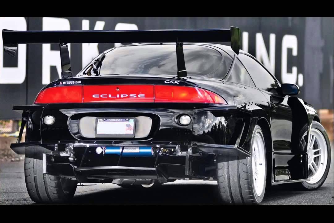 Mitsubishi Eclipse Souped Up >> 1995 mitsubishi eclipse - YouTube