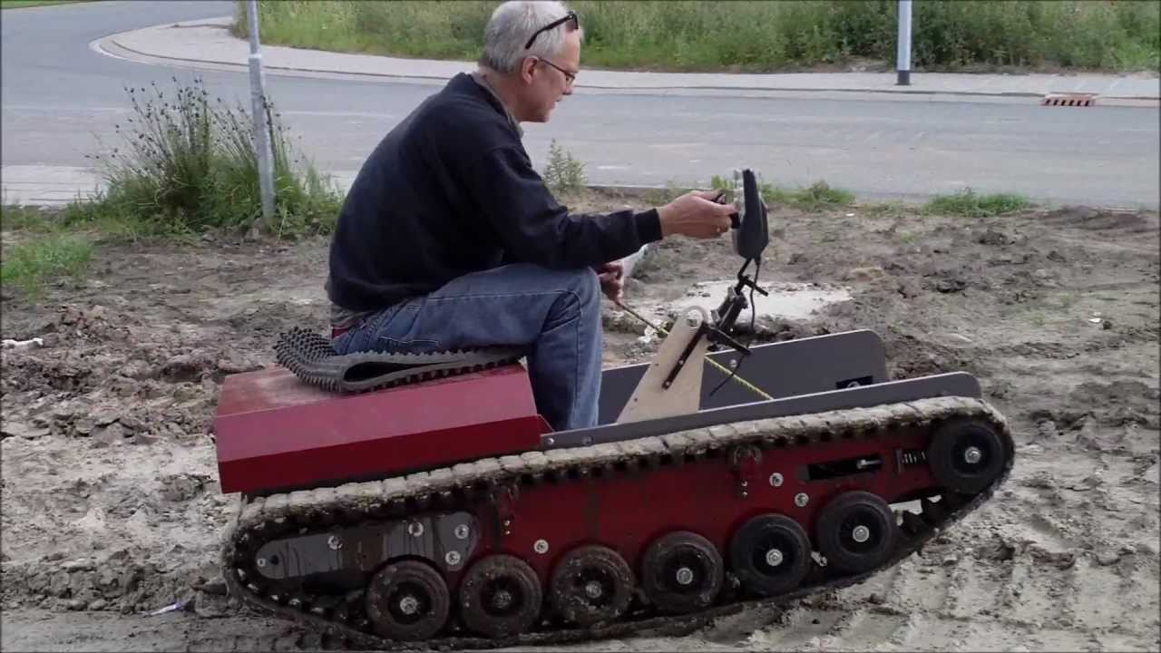 Hydrostatic Transmission Mini Tank : Tank finished youtube