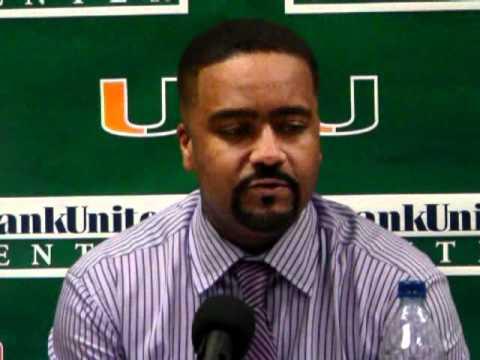 12/4/10 - Coach Haith, Malcolm Grant, Adrian Thomas