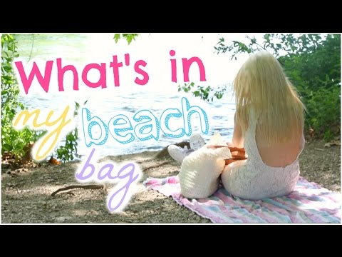[ Tag n°53 ] : What's in my beach bag ♡ 2015