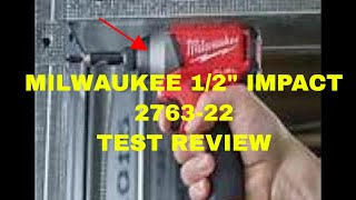 How to Milwaukee 2763-22 1/2 Drive Impact From Home Depot # Amazon