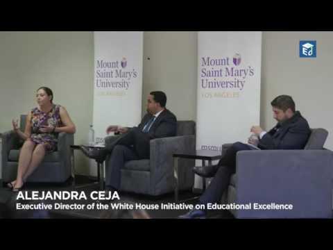 ELAC students meet US Secretary of Education, John B  King