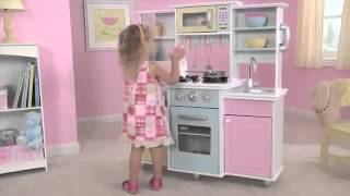 Kids Master Cooking Play Toy Kitchen A Fun Kitchen For Children Kidkraft 53275
