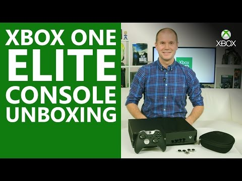 Xbox One Elite Console and Controller Unboxing | Xbox On