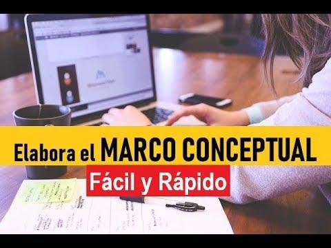 Cómo Elaborar El Marco Conceptual Muestro Ejemplo