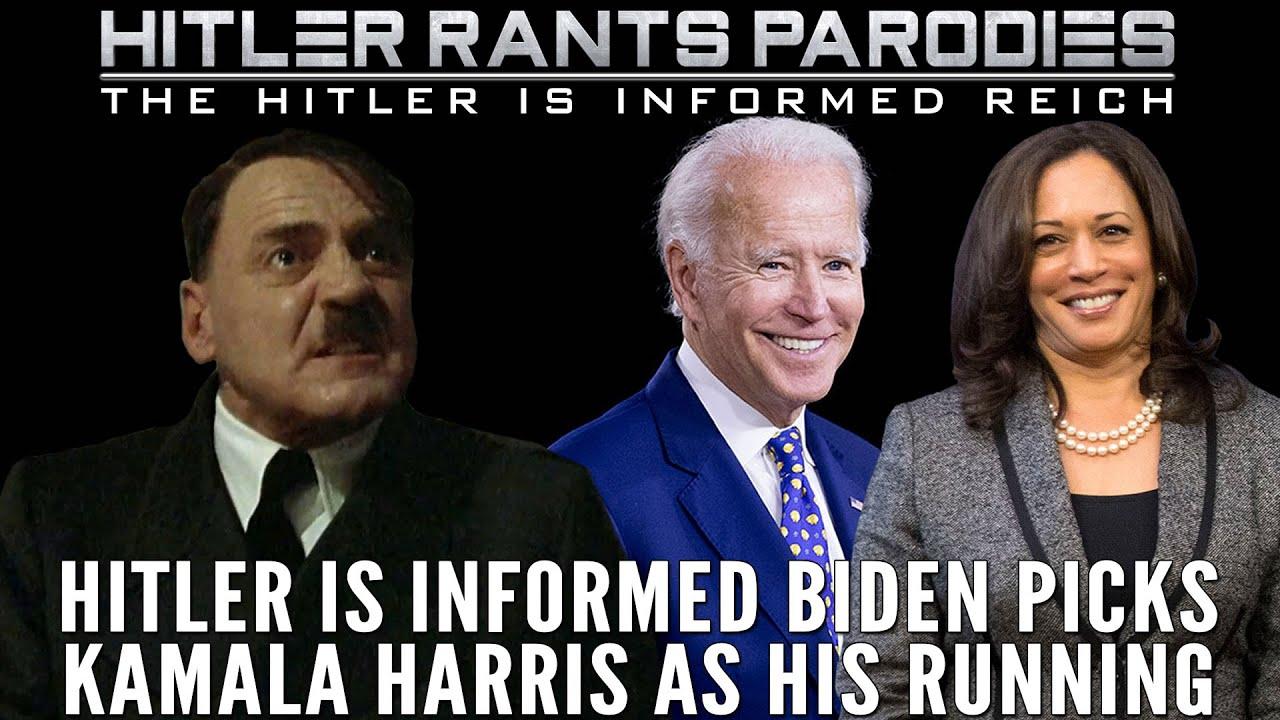 Hitler is informed Biden picks Kamala Harris as his running mate