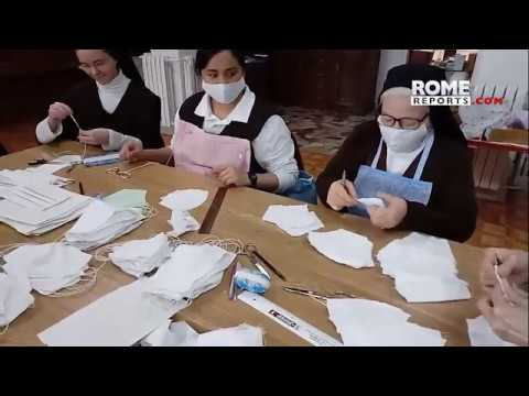 Cloistered nuns manufacture masks and give advice on how to live in time of quarantine