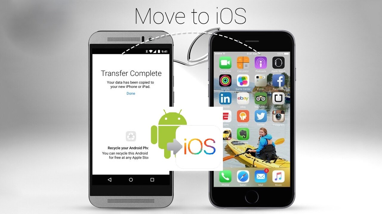 Hướng dẫn chuyển dữ liệu từ Android sang iPhone không cần dùng máy tính cực hay