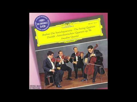 Amadeus Quartet plays Dvorak 'American' Quartet, Op. 96