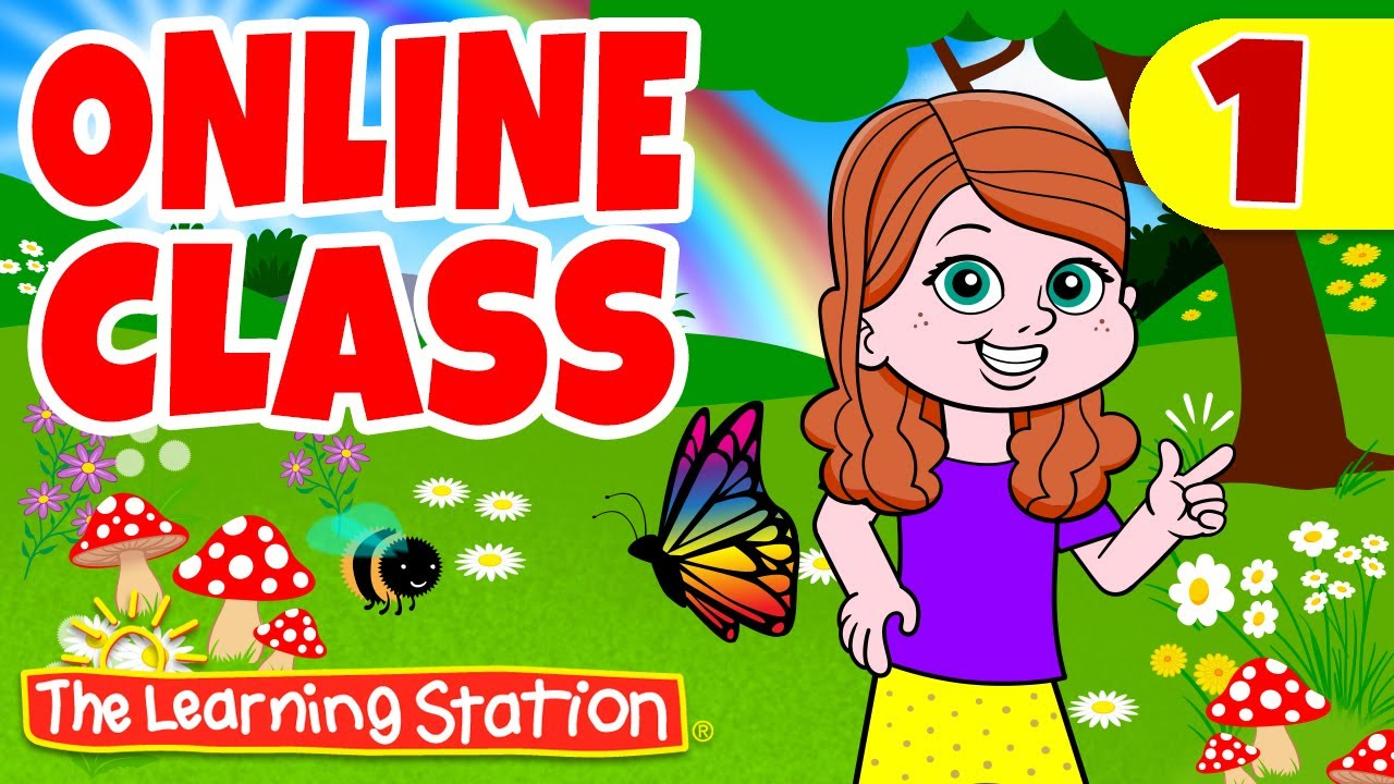 Online Class Learning 1 Spring Is Here More Music Movement Kids Songs By The Learning Station Youtube