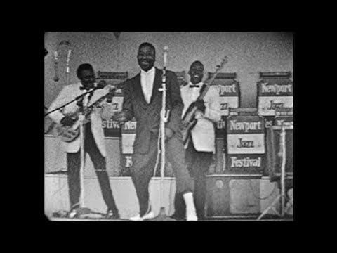 Muddy Waters Newport Jazz Festival 1960