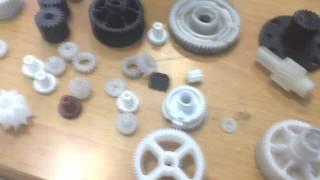 Шестерня на 3D принтере
