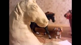 Как сделать лошадь из пластилина: фриз на дыбах(, 2015-03-25T07:14:21.000Z)