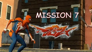 Playing as PS4 Spider-man - Mission 7 - The Amazing Spider-man 2 (PC)