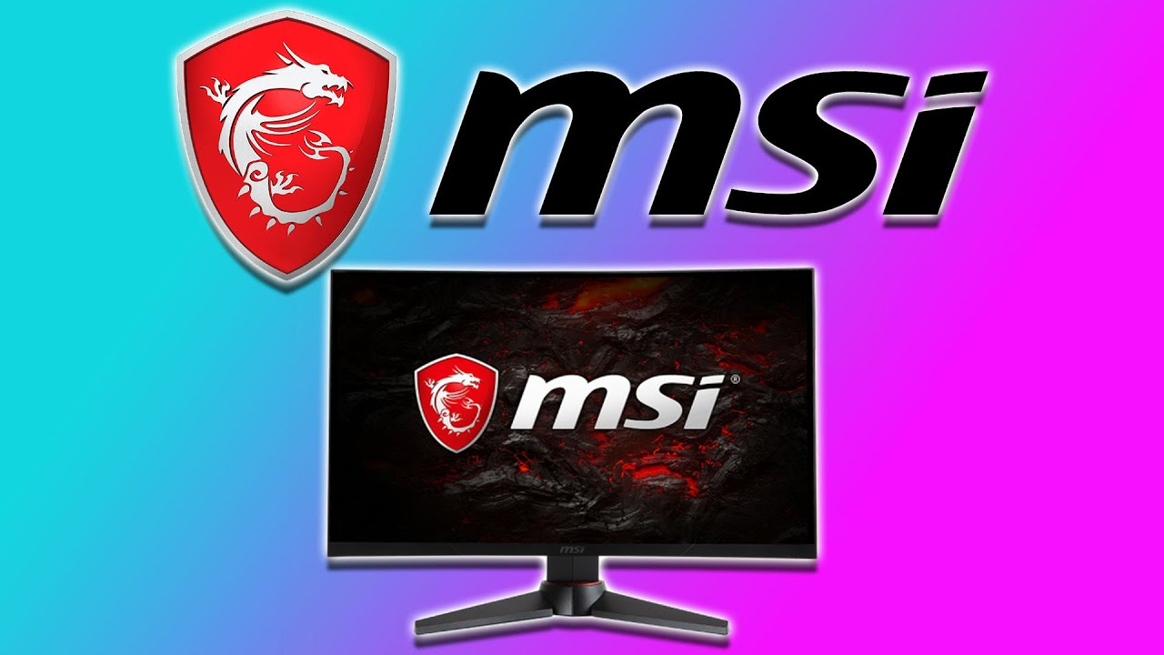 MSi Optix MAG24C 144Hz Curved Gaming LED Monitor