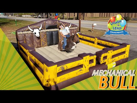 Mechanical Bull Ride Party Rental - Western Theme Party - South Carolina Mechanical Bull For Rent